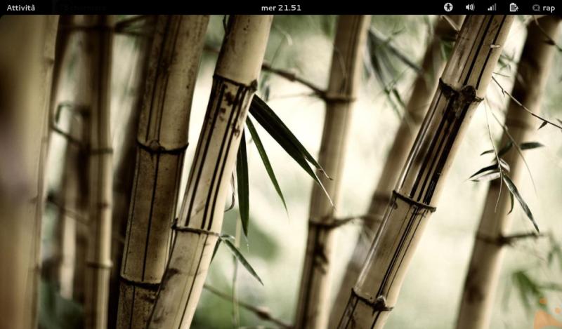 La mia Fedora 17