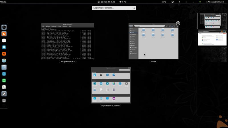 Fedora 18 (desktop pieno)