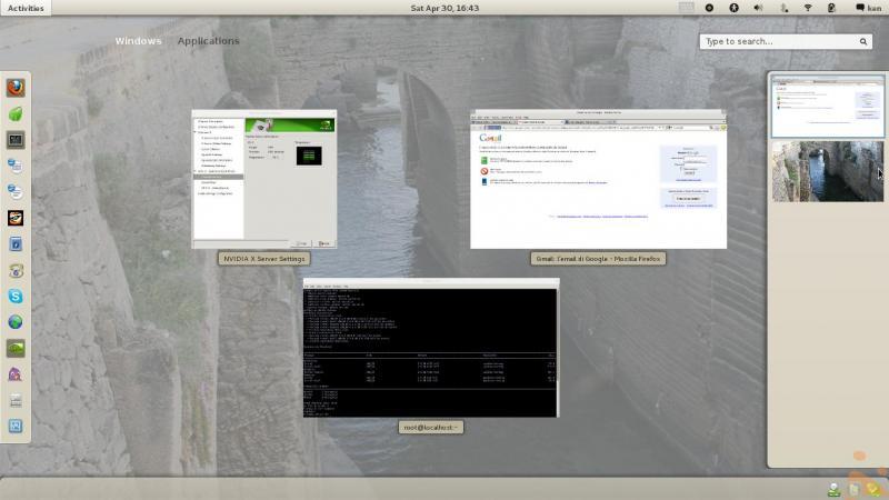 Fedora 15 beta - Cambio tema