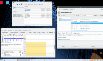 Fedora 28 KDE Plasma Desktop